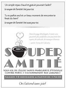 Souper de l'amitié @ Sainte-Marguerite-d'Youville, porte 3 | Châteauguay | Québec | Canada