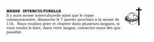 Messe interculturelle @ PAROISSE SAINTE MARGUERITE D'YOUVILLE